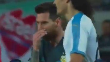 Messi pokłócił się z Cavanim
