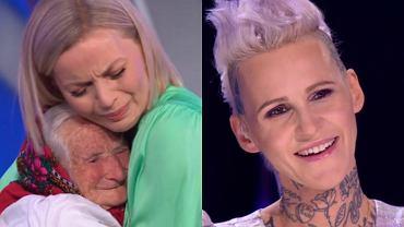 Małgorzata Foremniak i Agnieszka Chylińska, występ pani Genowefy w 'Mam talent!'