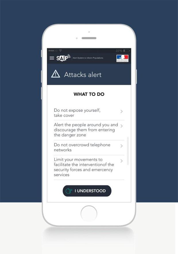 SAIP - wskazówki dotyczące zachowania się w trakcie ataku