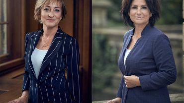 Wiceprezydentka Wałbrzycha Sylwia Bielawska (z lewej) i senatorka Agnieszka Kołacz-Leszczyńska