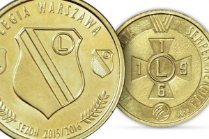 Już wiemy, kto znajdzie się na monecie wybitej przez NBP na 100-lecie Legii Warszawa