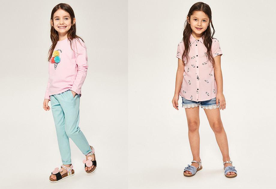 Reserved sandały dla dziewczynki