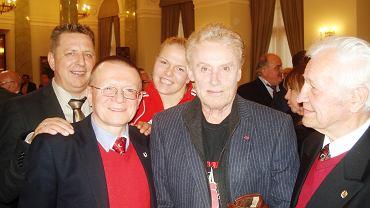 Artur Kowalski, Daniel Olbrychski i Teofil Kowalski