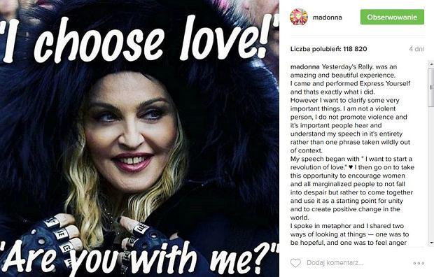 Wpis Madonny