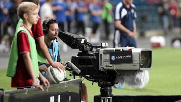 Kamera na stadionie Wisły