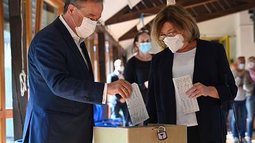 Armin Laschet (CDU) przypadkiem ujawnił, na kogo głosował