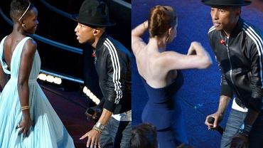 Pharrell Williams, Lupita Nyong'o, Amy Adams