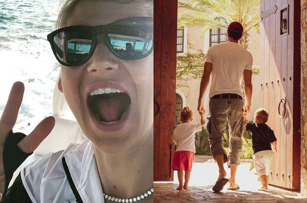 Bliźniaki Anny Kurnikowej i Enrique Iglesiasa są już bardzo duże. Mama pokazała wyjątkowe wideo