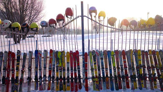 giełda narciarska stegny