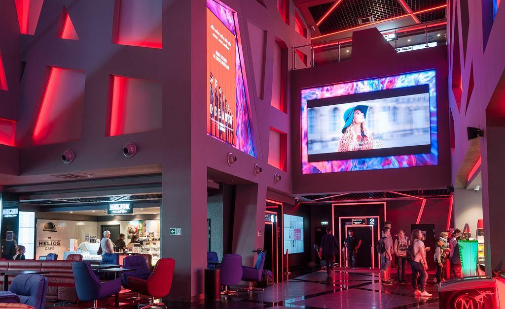 Kino sieci Helios w Forum Gdańsk
