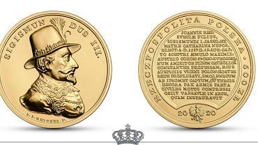 Nowe monety kolekcjonerskie NBP z wizerunkiem Zygmunta III Wazy