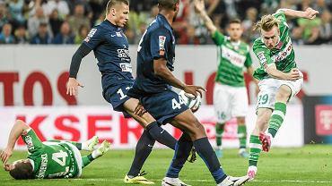 Lechia Gdańsk - Pogoń Szczecin 0:1. Z prawej Kevin Friesenbichler