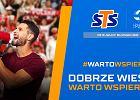 STS oraz Polska Liga Siatkówki zmierzą głośność dopingu kibiców polskiej siatkówki