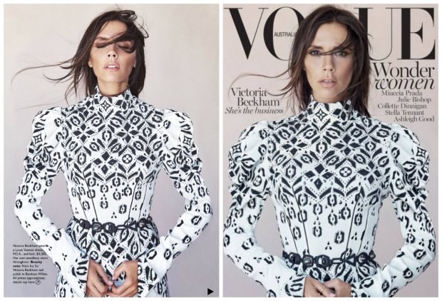 Victoria Beckham, Vogue Australia 2015