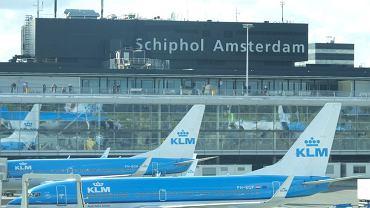 Lotnisko Schiphol w Amsterdamie