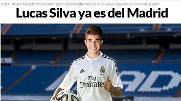 Lucas Silva (źródło: marca.com)