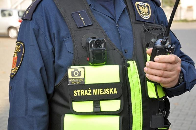 Strażnik z kamerą nasobną