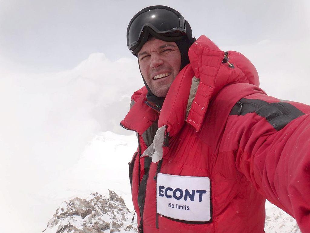 Atanas Skatov podczas wyprawy na Makalu, 23.05.2016