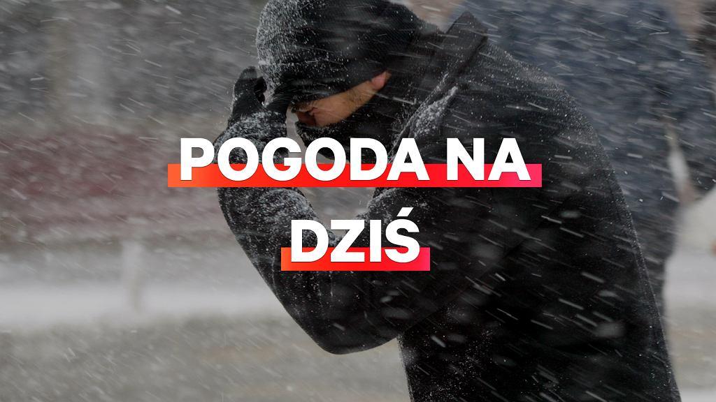 Pogoda na dziś - poniedziałek 24 lutego.