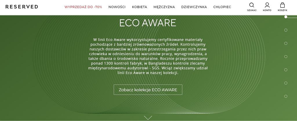 Reserved #EcoAware