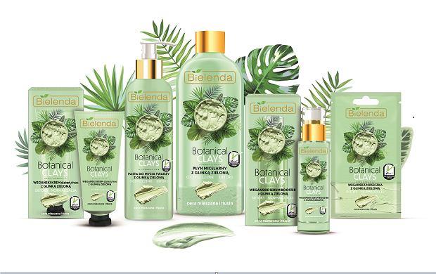 Kosmetyki Bielenda z zieloną glinką