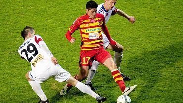 Jagiellonia Białystok - Górnik Zabrze 0:1. Alexis Norambuena