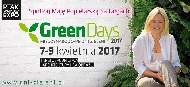 Targi Ogrodnictwa i Architektury Krajobrazu Green Days 2017