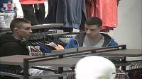 Ci dwaj młodzieńcy dokonali kradzieży i uciekli ochroniarzowi, fot. policja lubelska