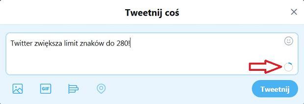 Twitter zwiększa limit znaków