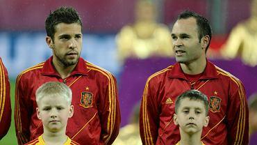 Jordi Alba i Andres Iniesta