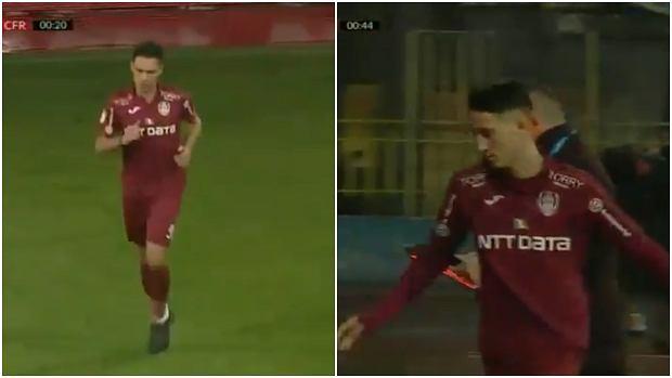 Dan Petrescu zmienił piłkarza w 24. sekundzie! Wytłumaczył, po co to zrobił [WIDEO]