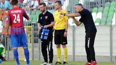 Piłka nożna - II liga. Warta Poznań - Polonia Bytom 0:1. Trener gości Ireneusz Kościelniak