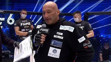 Marcin Najman zapowiedział zakończenie kariery po porażce w Fame MMA 6