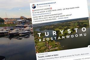 Turyści przyjeżdżają na Mazury mimo zakazów. Burmistrz Giżycka chce wezwać wojsko