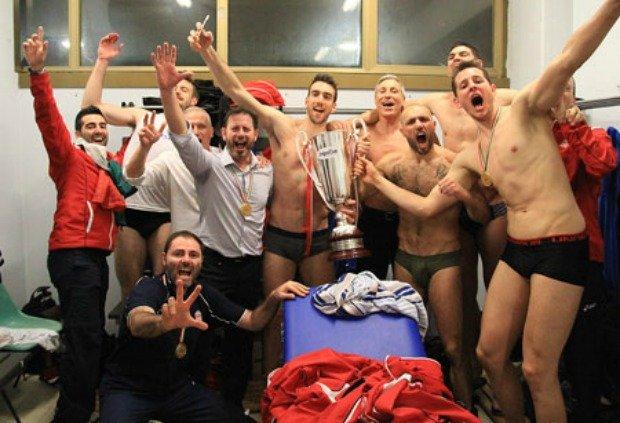 Bartek Kurek (i koledzy) świętuje mistrzostwo Włoch