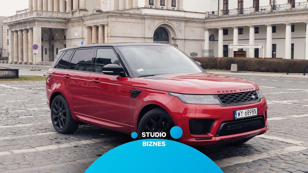 Range Rover Sport w Studiu Biznes