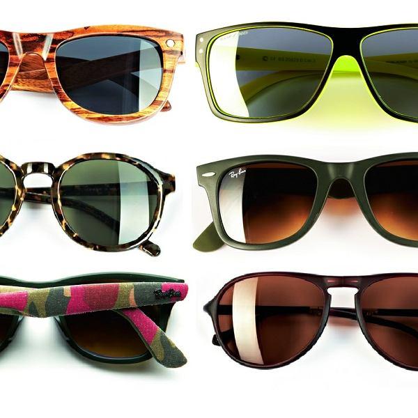 Najmodniejsze okulary przeciwsłoneczne. W tym sezonie szczególnie liczą się skóra, drewno i aksamit