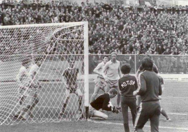 Maj 1980 r. Mecz Motoru z Rakowem Częstochowa wygrany 1:0, który na cztery kolejki przed końcem drugiej ligi zadecydował o awansie