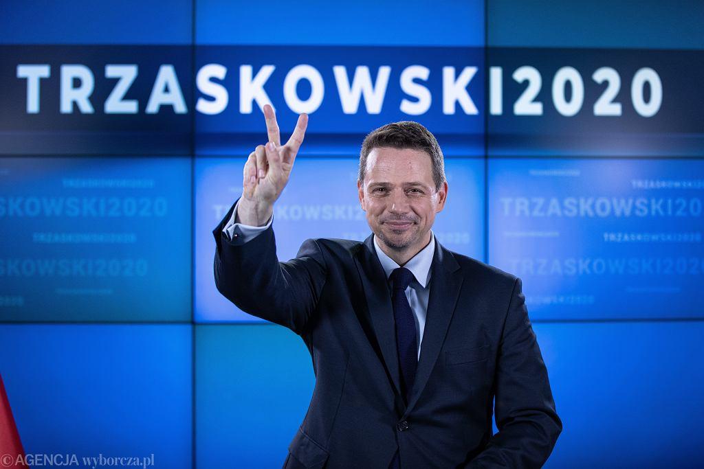 Wybory prezydenckie 2020. Rafał Trzaskowski