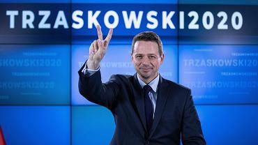 Konferencja prasowa Rafała Trzaskowskiego
