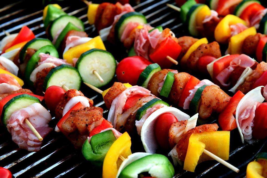 Pyszne danie z grill