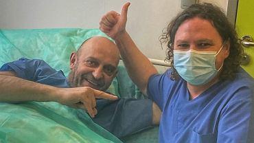 Janusz Chabior w szpitalu