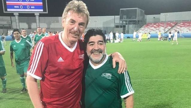 Boniek i Maradona