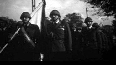 Pogrzeb milicjanta Michała Hałamuszki