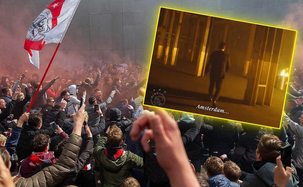 Kibice Ajaxu Amsterdam
