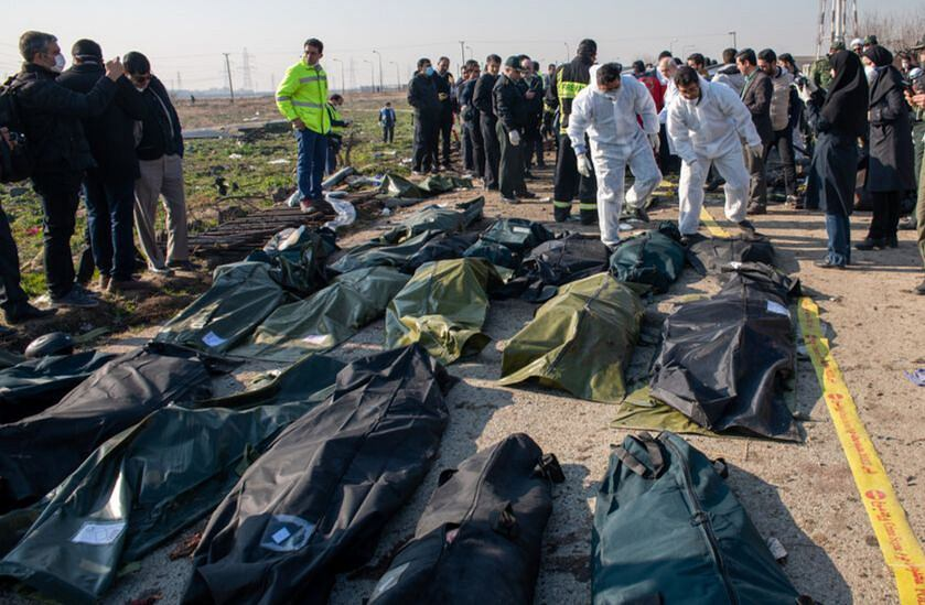 Katastrofa lotnicza w Iranie