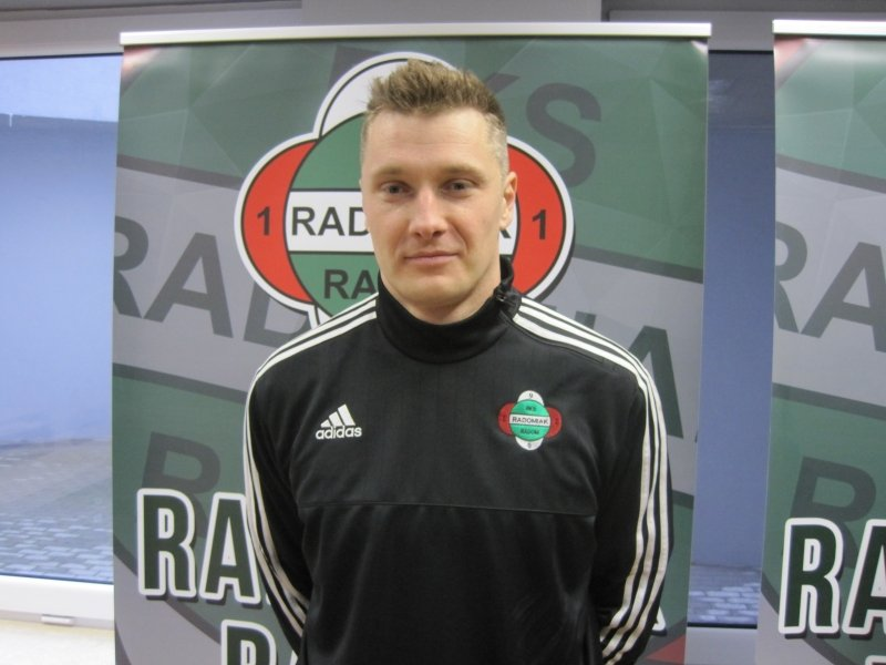 Michał Kula (były zawodnik Radomiaka) - zadebiutował w barwach radomskiej Broni