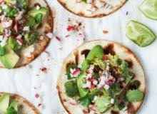 Tacos z bobem i rzodkiewkami - ugotuj