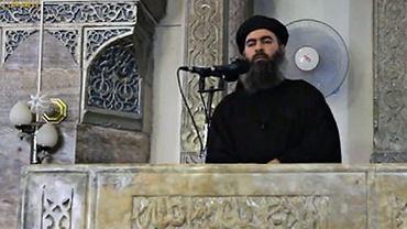 Szef ISIS, Abu Bakr al-Baghdadi.