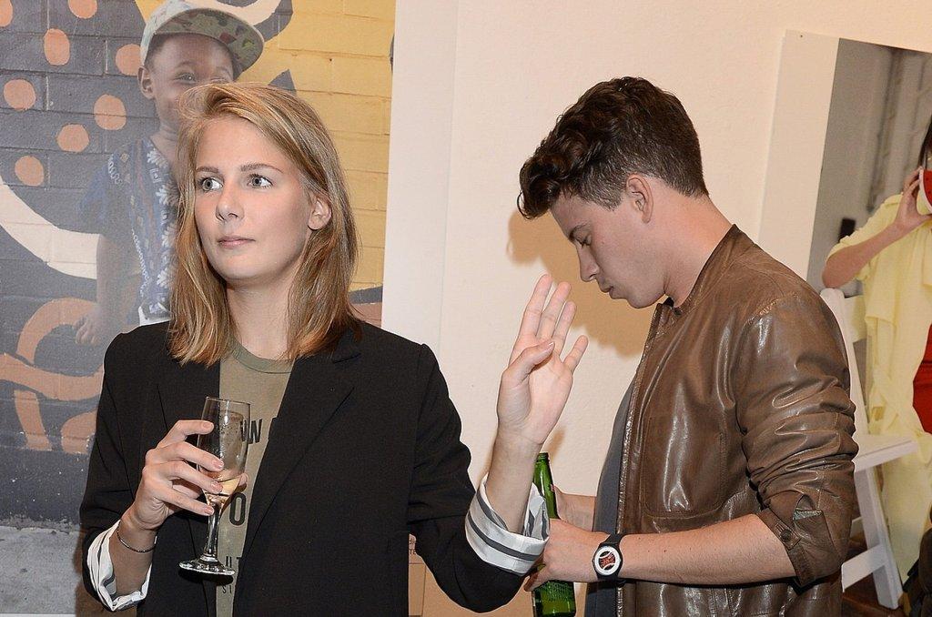 Marta Wierzbicka i Maciej Zawadzki
